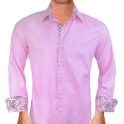 Pink-Paisley-Dress-Shirts