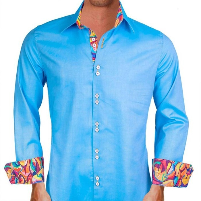 Bright-Blue-Dress-Shirts