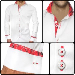 Mens-Christmas-Accent-Dress-Shirts