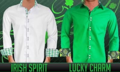 Mens St Patricks Day Dress Shirts