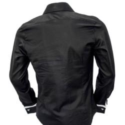 Black-French-Cuff-Dress-Shirts