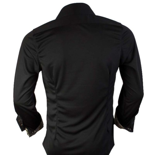 Black-Mens-Dress-Shirts