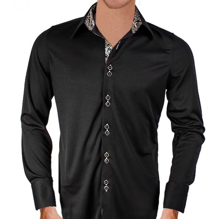 Black-and-Grey-Dress-Shirts