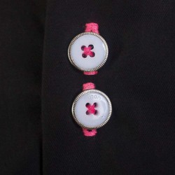 Black-and-Pink-Accent-Dress-Shirts