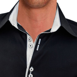 Black-and-White-Designer-Dress-Shirts