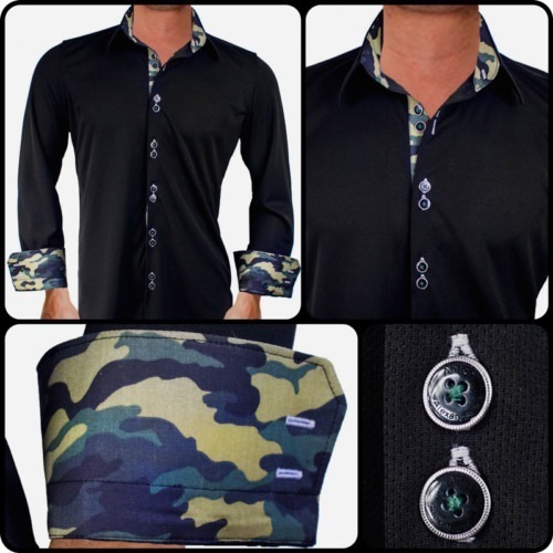 Black-with-Camo-Dress-Shirts