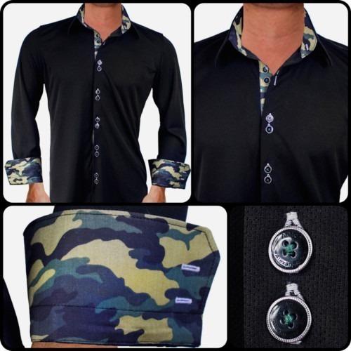 Black-with-Camo-Dress-Shirts