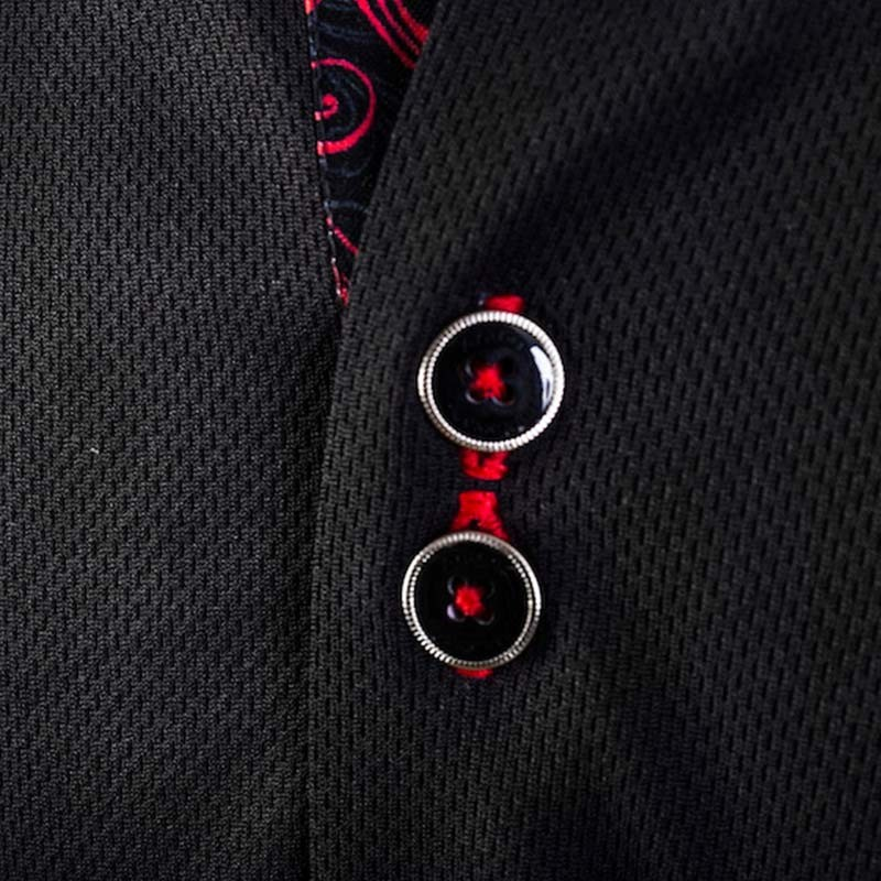 Black-with-Red-Trim-Dress-Shirts