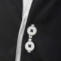 Black-with-White-Trim-Dress-Shirts