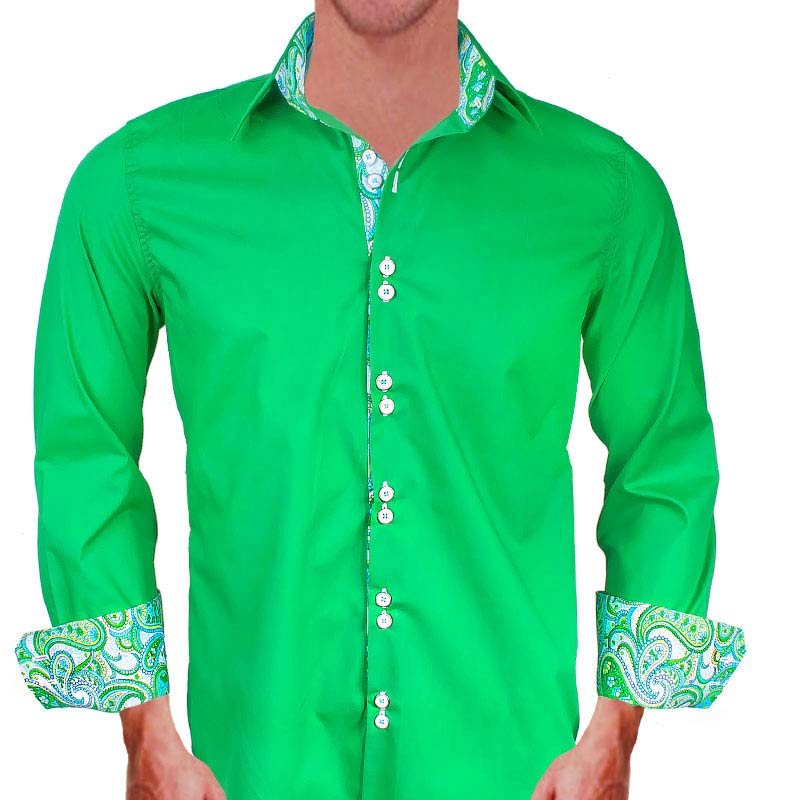 Bright Green Dress Shirts