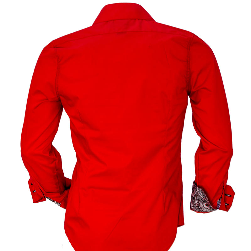 Bright Red Dress Shirts
