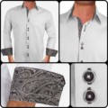 Grey-and-Black-Paisley-Dress-Shirts