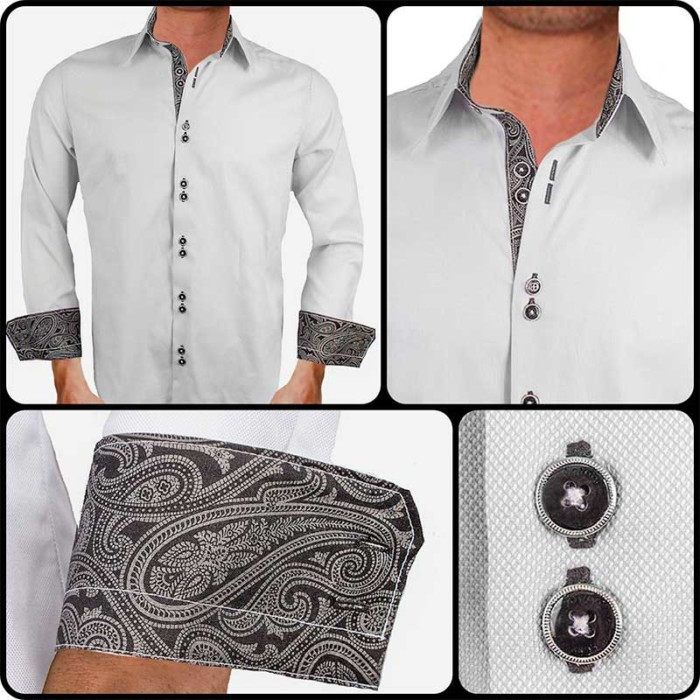 Grey-and-Black-Paisley-Dress-Shirts