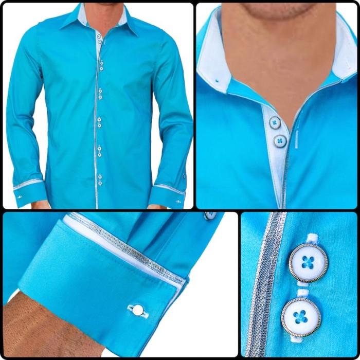 Light-Blue-with-White-Cuffs-Dress-Shirts