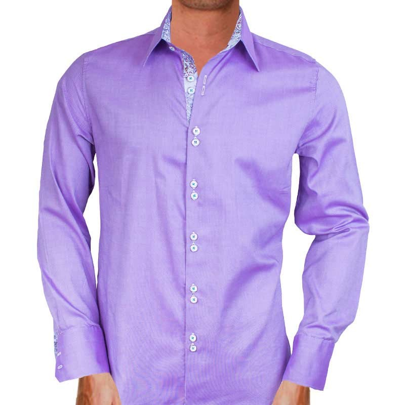 Purple-and-White-Dress-Shirts