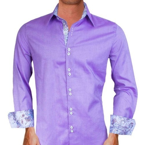 Purple-with-White-Dress-Shirts