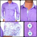 Purple-with-White-paisley-Dress-Shirts