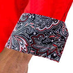 Red-and-Black-Paisley-Dress-Shirts