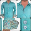 Sea-Green-with-Grey-Contrast-Dress-Shirts