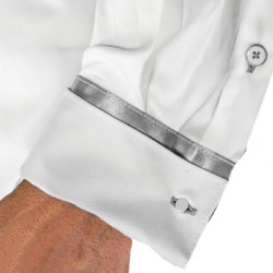 White-and-Grey-French-Cuff-Dress-Shirts