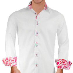 White-and-Pink-Dress-Shirts