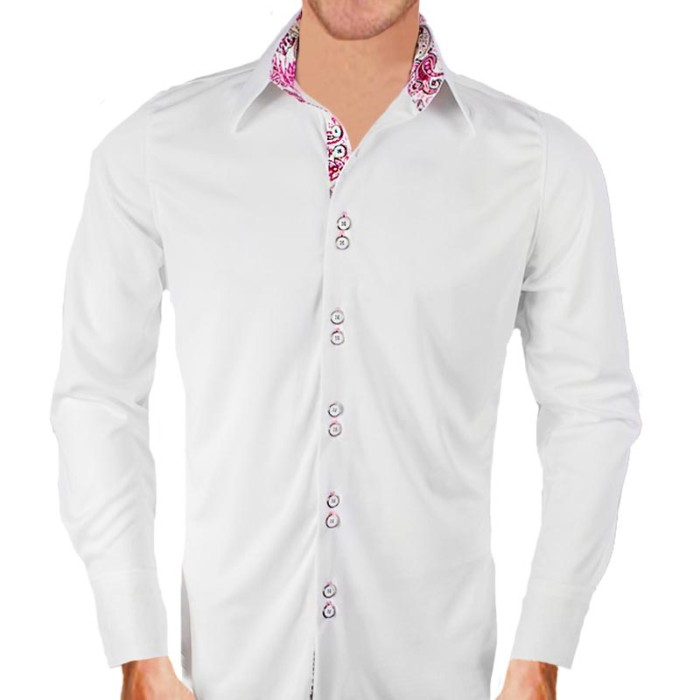 White-and-Pink-Paisley-Dress-Shirts
