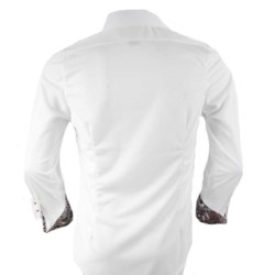 White-with-Black-Cuffs-Dress-Shirts