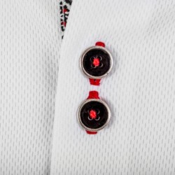 White-with-Black-and-Red-Dress-Shirts