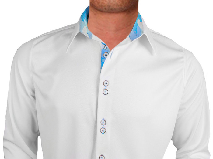 White-with-Blue-Contrast-Dress-Shirts