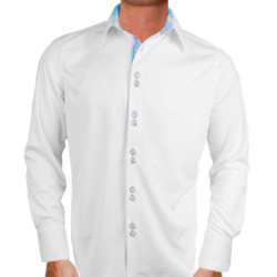 White-with-Blue-Dress-Shirts