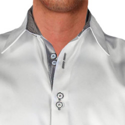 White-with-Grey-Designer-Dress-Shirts