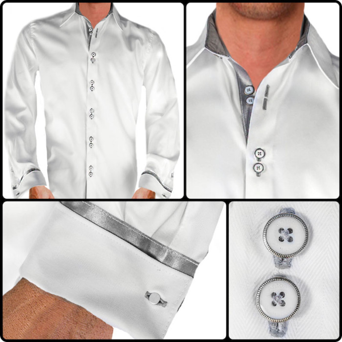 White-with-Grey-French-Cuff-Dress-Shirts