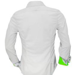 White-with-Neon-Green-Trim-Dress-Shirts