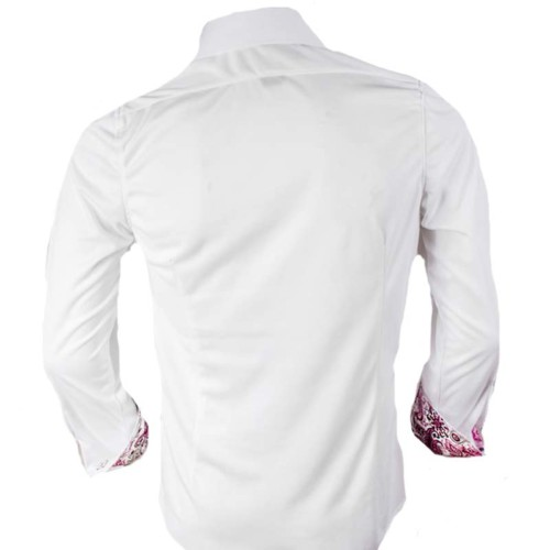 White-with-Pink-and-Grey-Dress-Shirts