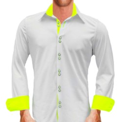 White-with-Yellow-Dress-Shirts
