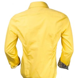 Yellow-with-black-accent-dress-shirts