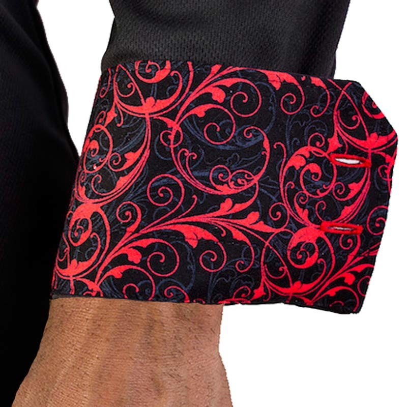 black-and-red-paisley-dress-shirts