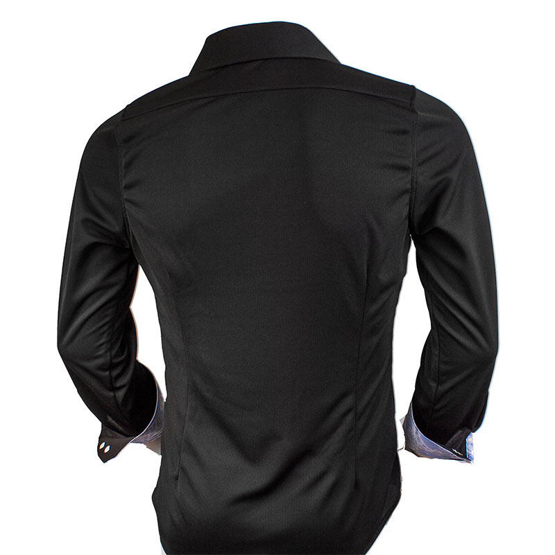 black-fitted-dress-shirts