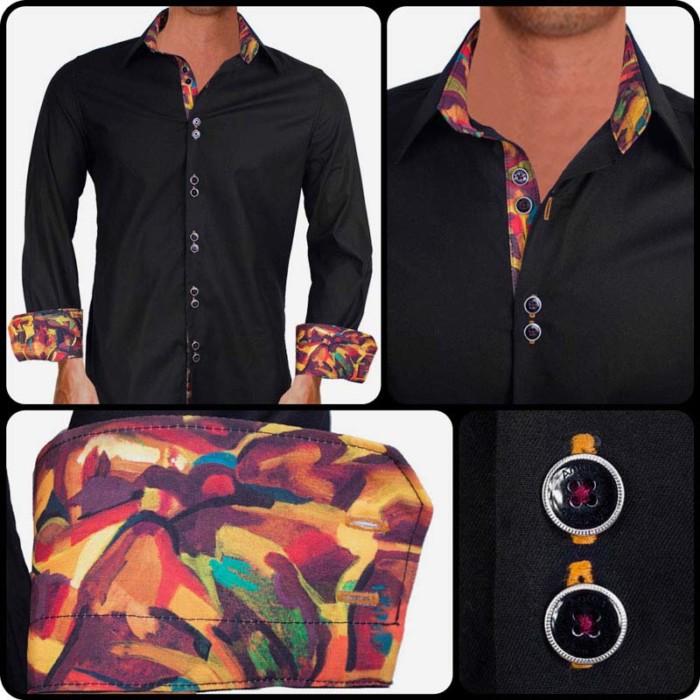 Artist-hand-painted-dress-shirt