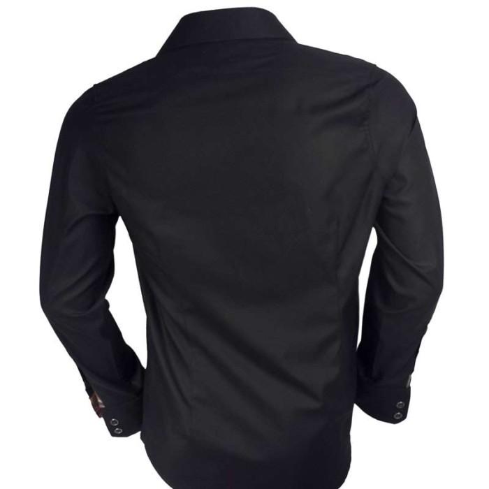 Black-Mens-Dress-Shirts