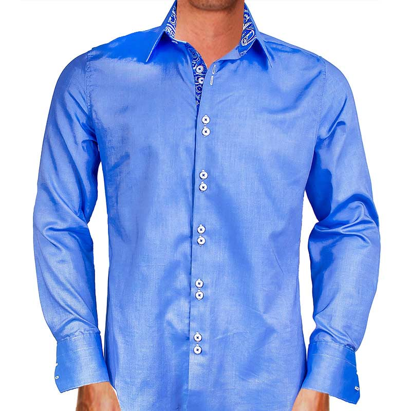 Blue-with-Paisley-Dress-Shirts