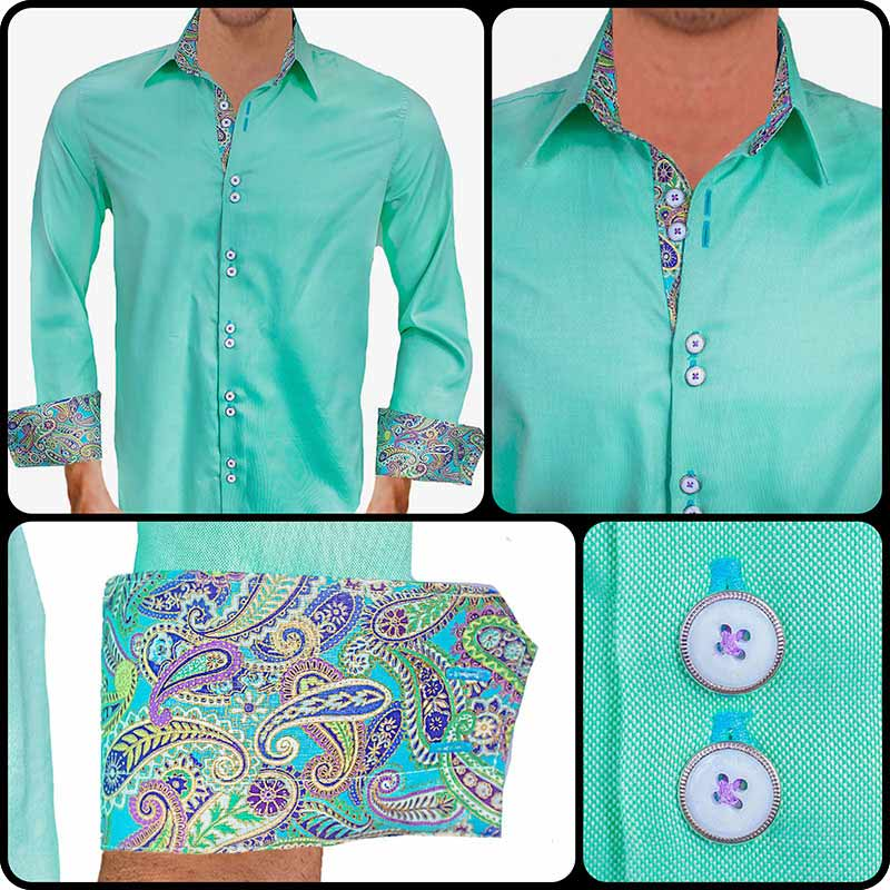 Light-Green-with-Purple-Accent-Dress-Shirts