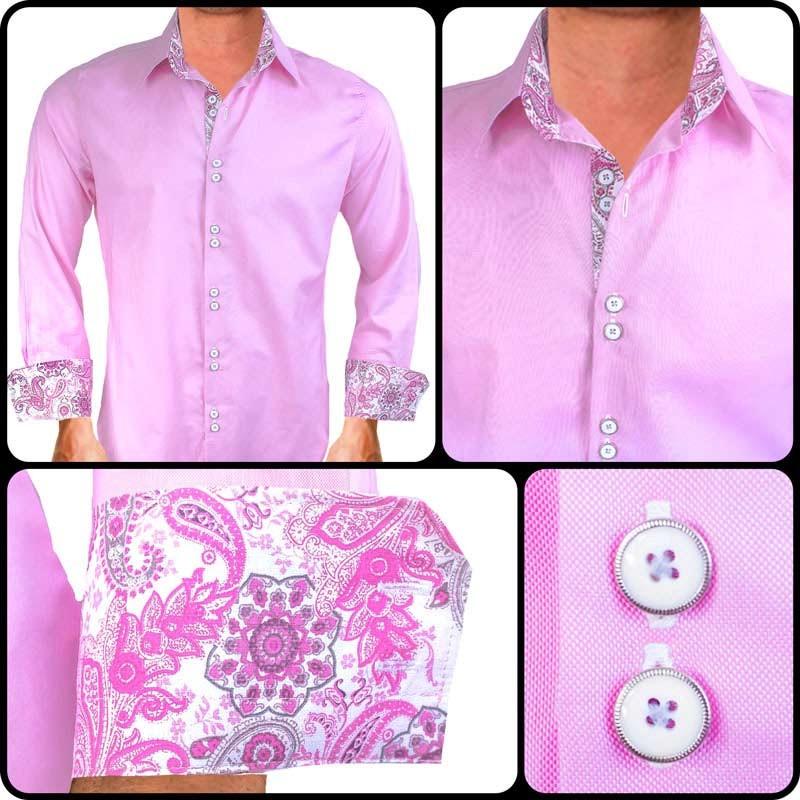 Pink-White-Dress-Shirts