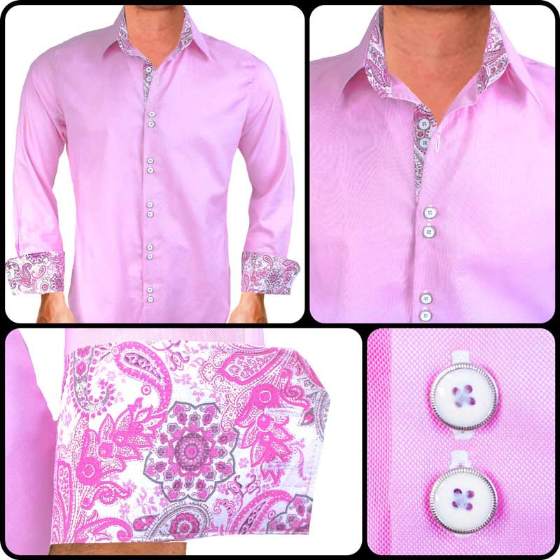 Pink-White-Dress-Shirts