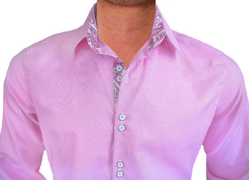 Pink-and-White-Paisley-Dress-Shirts