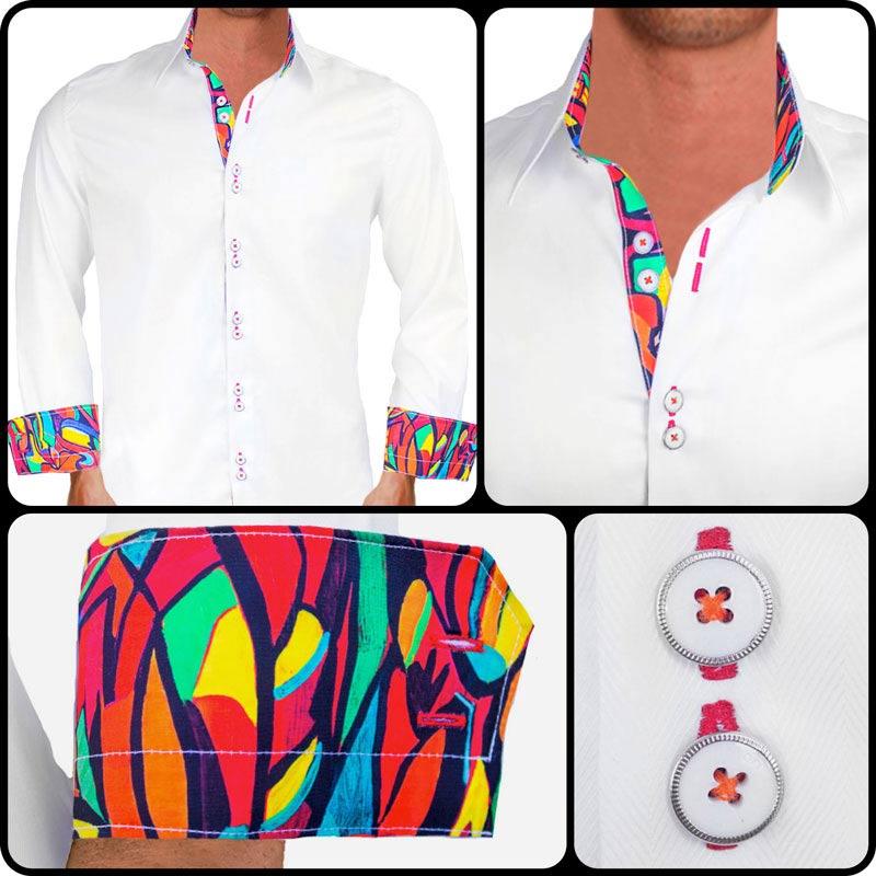 artist painted dress shirts