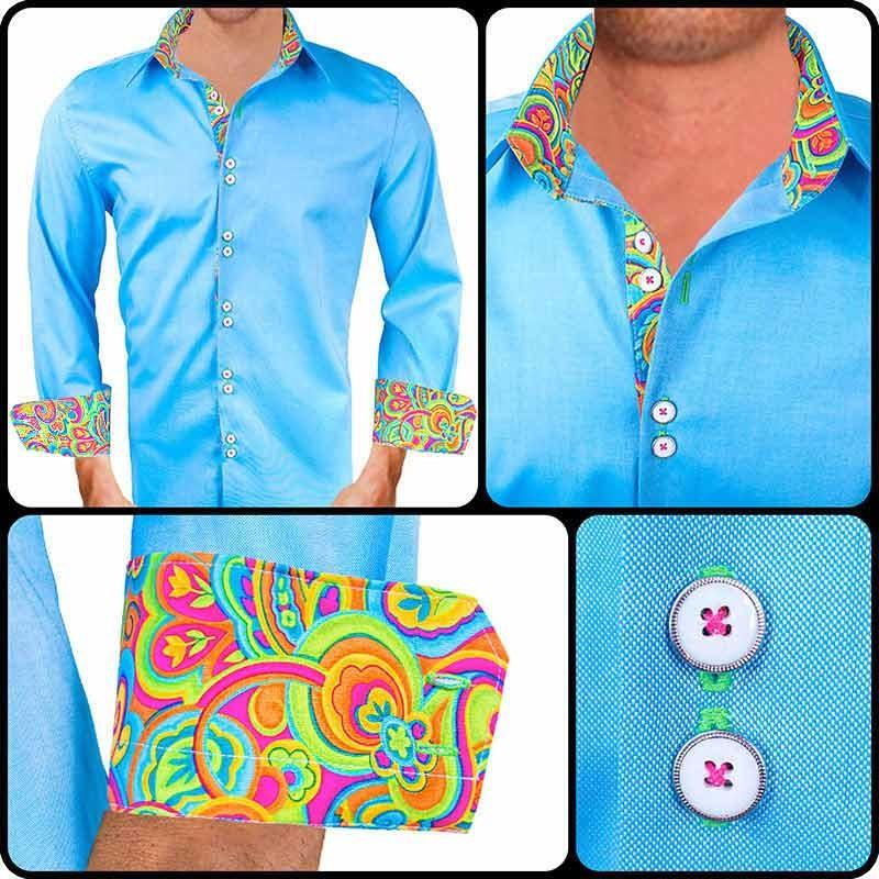 Baby-Blue-Mens-Dress-Shirts