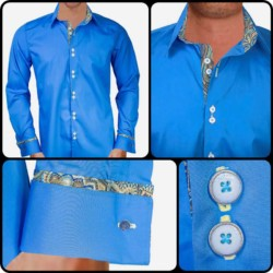 Blue-with-gold-dress-shirts