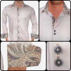 Tan-with-black-paisley-dress-shirts