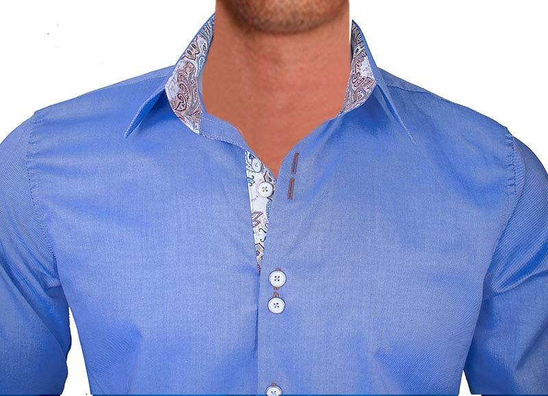 bright-blue-with-tan-dress-shirts-